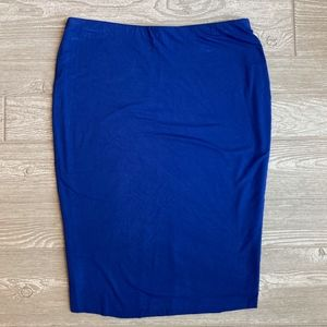 Vince Camuto - Pull-on Ponte Knit Pencil Skirt